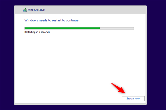 how to install windows 10 from a dvd