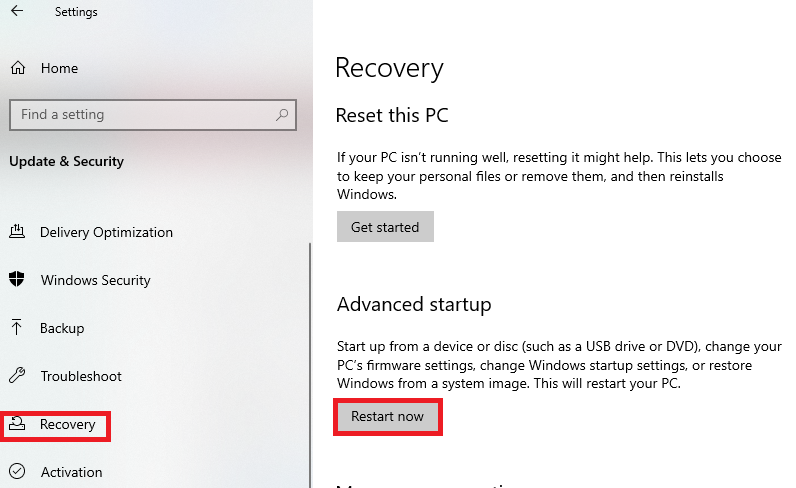 how to enable vt windows 10