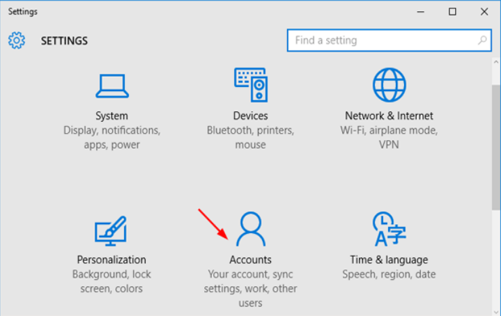 how to delete an microsoft account on windows 10