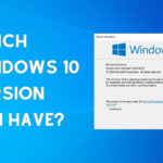 which windows 10 version do i have
