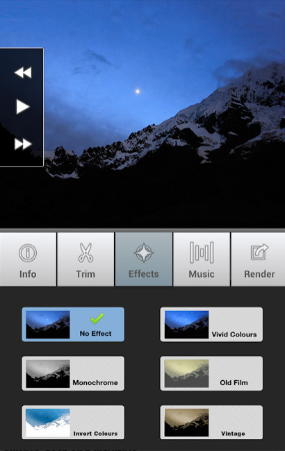 How to make a time-lapse video on Android