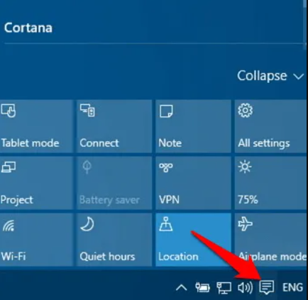How to Turn ON the Bluetooth on Windows 10