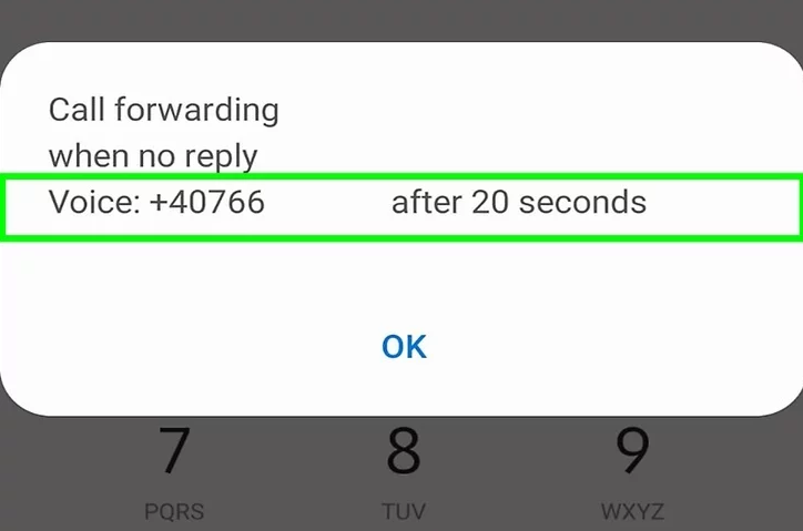How to change the number of rings before voicemail on android