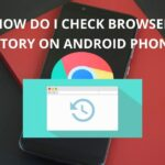 how do i check browser history on android phone