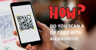 how do you scan a qr code with an android