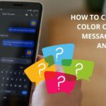 how to change the color of your text messages on android
