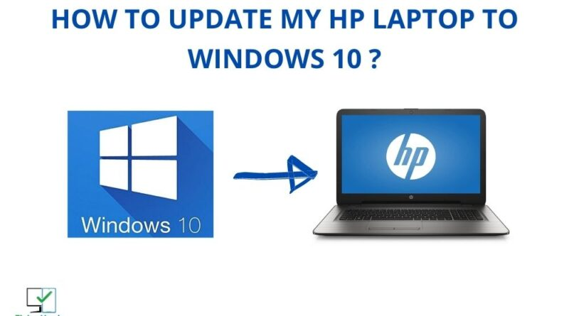 how to update my hp laptop to windows 10