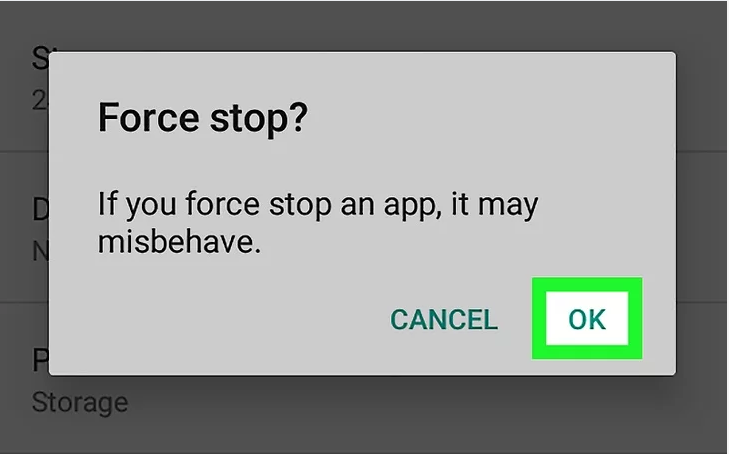 how to restart a app on android