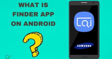 what is finder app on android