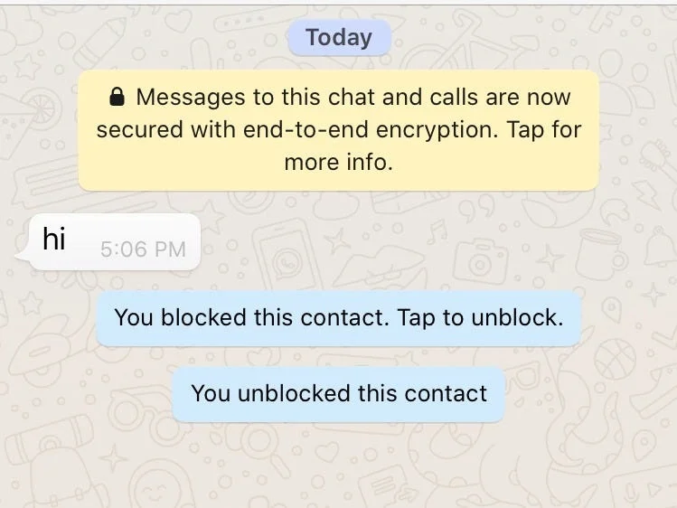 what happens when you block a number on android