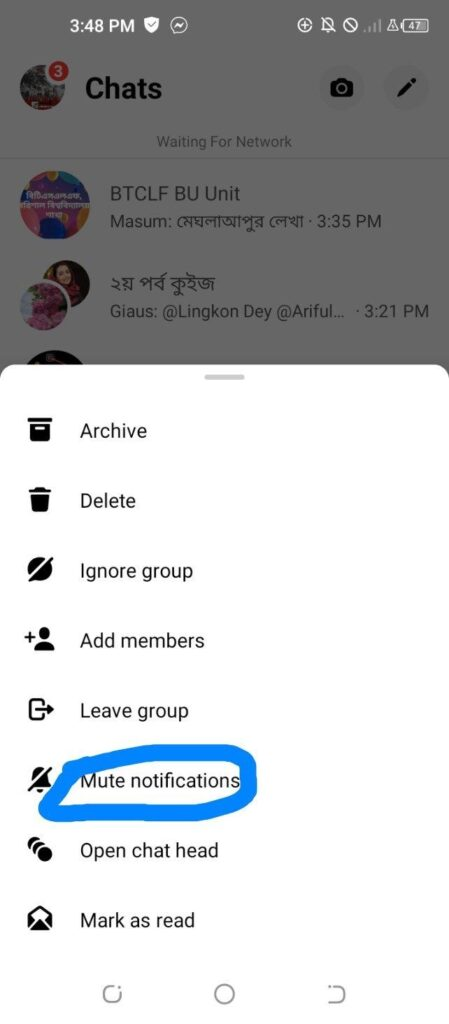 how to unmute all text messages on android