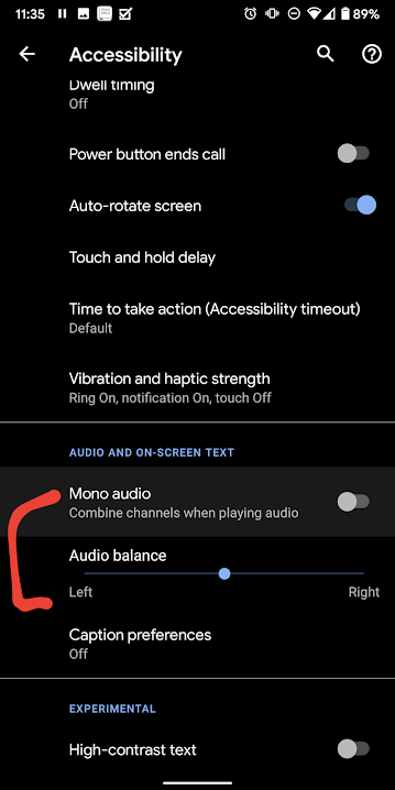 How to change my microphone settings on my Android