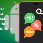 how to change voicemail language on android