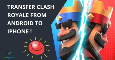 how to transfer clash royale from android to iphone