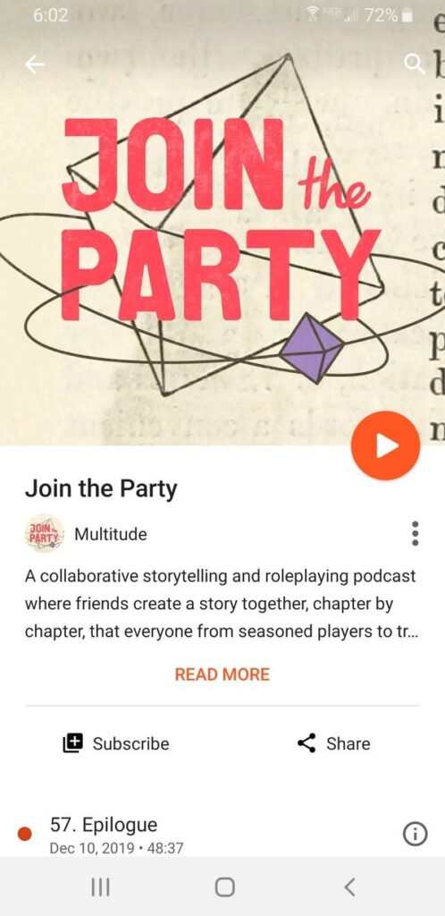 how to get podcast on android