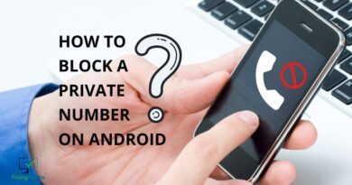 how to block private number android