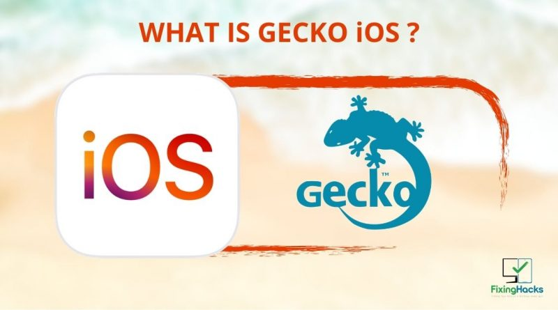 what is Gecko iOS