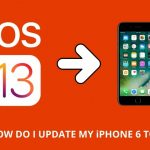 How do I update my iPhone 6 to iOS 13