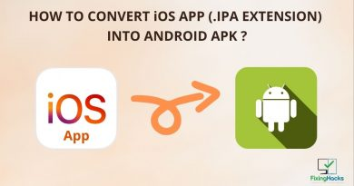 is there any way to convert IOS app (.ipa extension) directly to Android apk format